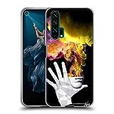 Head Case Designs Ufficiale LouiJoverArt La Fuga Fuoco E Fumo Cover in Morbido Gel Compatibile con Huawei Honor 20 PRO