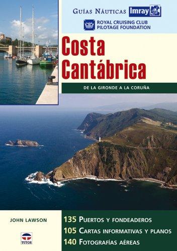 Guías Náuticas Imray. COSTA CANTÁBRICA por RCC Pilotage Foundation