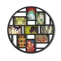 إطار الملصقات أومبرا لونا Nine-Opening لتزيين الجدران 21.9 x 21.9 x 1.8 311120-040