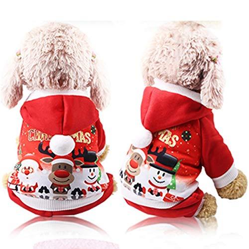 Disfraces de #Navidad para mascotas (3 diseños) por sólo 6,99€ con el #código: QSICG93W