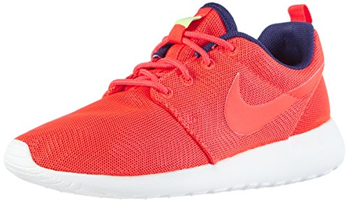 Nike Wmns Roshe One Moire, Chaussures de Running Compétition Femme Rouge (Red)