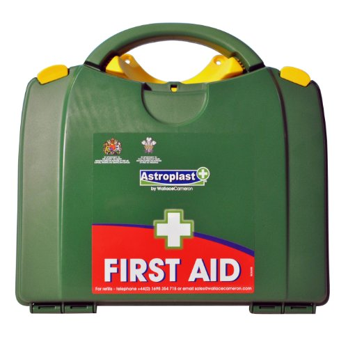 Astroplast Green Box 20 Person First Aid Kit (Kit Augen-dressing)