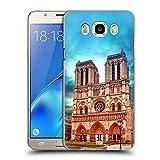 Head Case Designs Notre Dame Cathedral Paris Endroits - Collection 3 Étui Coque D'Arrière Rigide pour Samsung Galaxy J5 (2016)