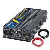 Sug Convertisseur Pur Sinus 3000w onduleur 12V à 220V Onde sinusoïdale Pure Power...