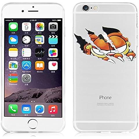 JAMMYLIZARD | Carcasa Transparente De Silicona Para iPhone 6 Plus / 6s Plus 5.5