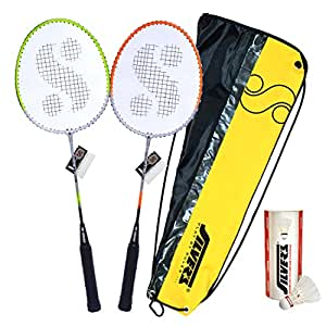 a974c41e95334 Buy Silver s SB-770 COMBO2 Badminton Kit Online at Low Prices in India -  Amazon.in