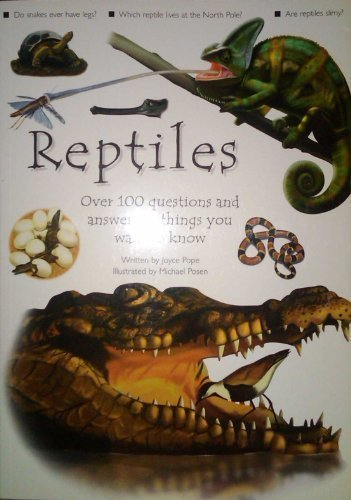 Reptiles (Dempsey Parr) by Joyce Pope Michael Posen (2000) Taschenbuch