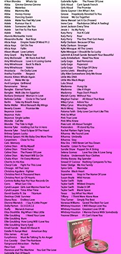 Vocal-Star Girls Hits Karaoke-Sammlung CDG Disc-Pack 8 Discs - 150 Lieder - 2