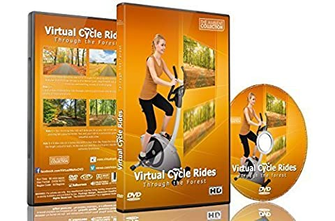 Virtuelle Fahrradstrecken - Durch den Wald - für Indoor-Cycling, Laufband und (Collection 4 Dvd-set)