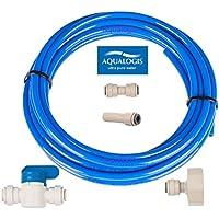 aqualogis Filtro de agua Set de conexión (Kit-7) para Whirlpool Hotpoint Ariston Frigoríficos De Estilo Americano