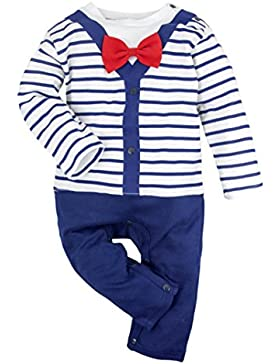 Big Elephant Baby Jungen' 1 Stück Langarm Spielanzug Pyjama R63