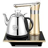 GBT Vollautomatische Add Wasser Wasserkocher 304 Edelstahl Wasserkocher Pumpen Automatische Abschaltung Automatische Wasser 1L 1350 Watt Wasserkocher,Gold