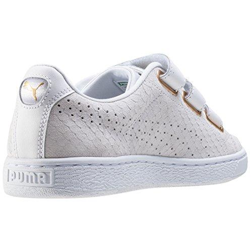 PUMA Basket x careaux Sneaker donna camoscio pelle Bianco in varie dimensioni