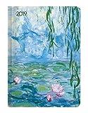 """Agenda settimanale Ladytimer 2019 """"Monet"""" 10,7x15,2 cm"""