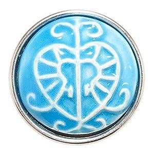 Noosa Chunk Erzulie Blue ceramic