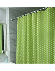 Cortina de ducha cortina de ducha de poliéster creativo interior y exterior baño antivaho impermeable cortina de ducha (una variedad de tamaños opcional, 180*200cm