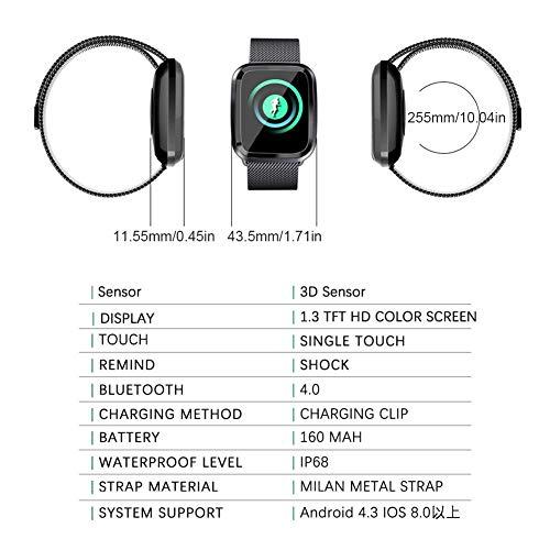 Zoom IMG-1 autoecho smart watch tracker fitness
