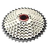 CYSKY Cassette de 9 velocidades 11-40T MTB Cassette de 9 velocidades para Bicicleta de montaña, Bicicleta de Carretera, MTB, BMX, SRAM, Shimano