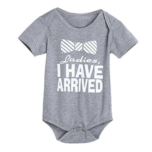 Oyedens Kleinkind Kostüm Bogen Bodycon, Ladies I Have Arrined Baby Mädchen Kleidung Neugeboren Baby Jungen Mädchen Strampler Kleinkind Mädchen Kostüm (Lady Geburt Kostüm)