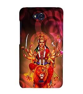 Bhavaani 3D Hard Polycarbonate Designer Back Case Cover for Micromax Bolt Q335