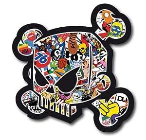 2 x 43 Sticker bOMB sticker ken block 10 cm de long energy ungeheuer orné style de griffe voiture tuning de moto