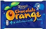 Terry's Chocolate Orange Bars (4x40g) - Pack of 6