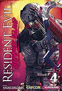 Resident Evil Heavenly Island Edition simple Tome 4
