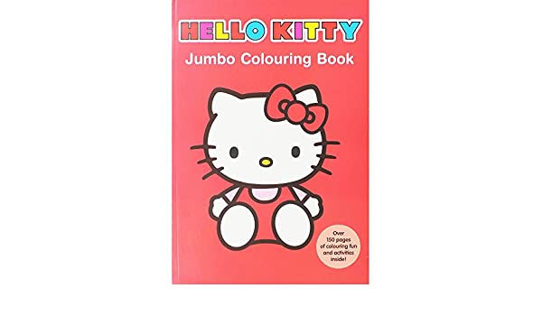 Alligator Produkte 1480/hkjc Hello Kitty Jumbo-Malbuch: Amazon.de ...