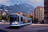 542007 Alsthom Low Floor Articulated Tram Grenoble