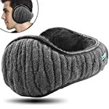 Dimples Excel Unisex Knit Ear Muff Pieghevole scaldini per le orecchie Inverno Outdoor paraorecchie taglia regolabile (1 pacco / grigio)