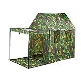 Tente Pop Up Enfants Camouflage Tente de jeu portable pilant Militaire Pour Intérieur Extérieur