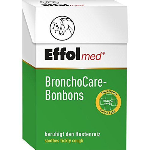 William Hunter Equestrian 5198 Effol BronchoCare Bonbons - 2 x 44 g - Menthol-sirup