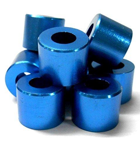 L11446 Alliage Bleu burant Stop Bloqueur Réducteur x 10 16mm 8mm 13mm 16x8x13 Rondelle