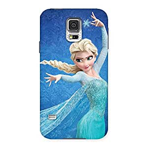 Delighted Angel And Cutness Back Case Cover for Samsung Galaxy S5