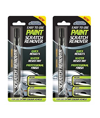 2-x-car-pride-paint-scratch-remover-touch-up-repair-pen-any-colour-vehicle-7ml