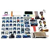 Adeept 46 Modules Ultimate Sensor Kit voor Raspberry Pi 3,2 B/B+, BMP180, DHT11, Raspberry Pi Sensor Starter Kit met C en Python Code, 150 Pagina's PDF Guidebook
