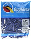 Ballons Qualatex 260 bleu foncé (sachet de 100)