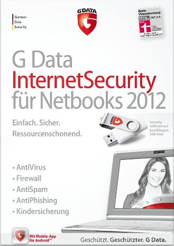 G DATA InternetSecurity Netbooks 2012 1PC [Download]