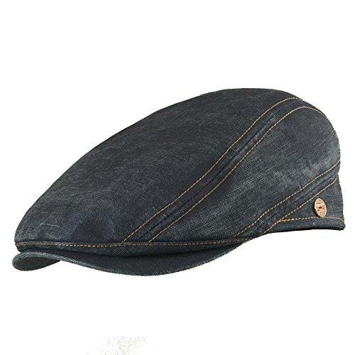 Mayser Rollable UV80 Outdoor Flatcap Delian Dark Jeans 55