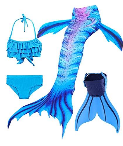 FlyHigh Meerjungfrau Flosse zum Schwimmen,DH70,140cm