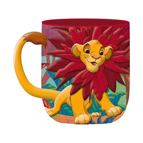 önig der Löwen - 3D Tasse - Simba - Geschenkbox ()