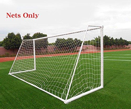 Fußball Tornetz Fußball Polyethylen Training Post Netze Volle Größe, weiß -