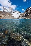 Impresión fotográfica del Lago de Los Tres, Patagonia