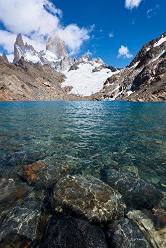 Fotographischer Druck von Lago de Los Tres, Patagonien