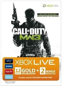 Xbox LIVE Gold Membership - Call of Duty--Modern Warfare 3