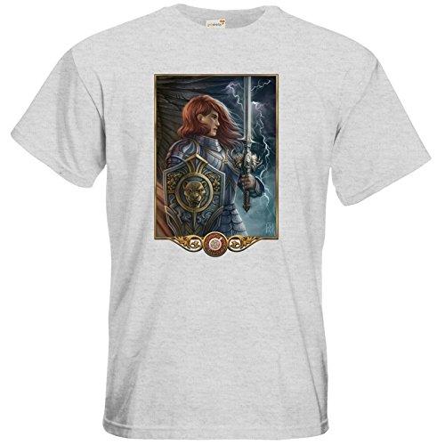 getshirts - Das Schwarze Auge - T-Shirt - Götter - Rondra Ash
