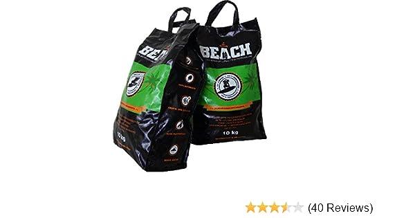 20 Kg Beach Kokos Grill Briketts von BlackSellig reine ...