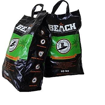 20 Kg Beach Kokos Grill Briketts Von Blacksellig Reine Kokosnussschalen Grillkohle Perfekte Profiqualitt Reach Registriert
