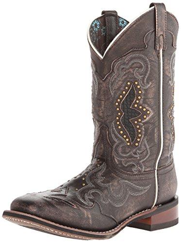 Laredo Spellbound Leather, Damen Stiefel & Stiefeletten schwarz Schwarz/Braun