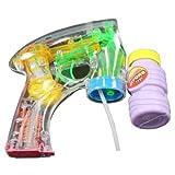 Seifenblasen Pistole mit LED Strahl Seifenblasenpistole